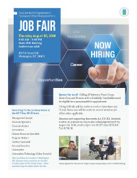 U.S. Department of Housing and Urban Development Job Fair