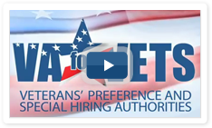Veterans' Preference and Special Hiring Authorities Video