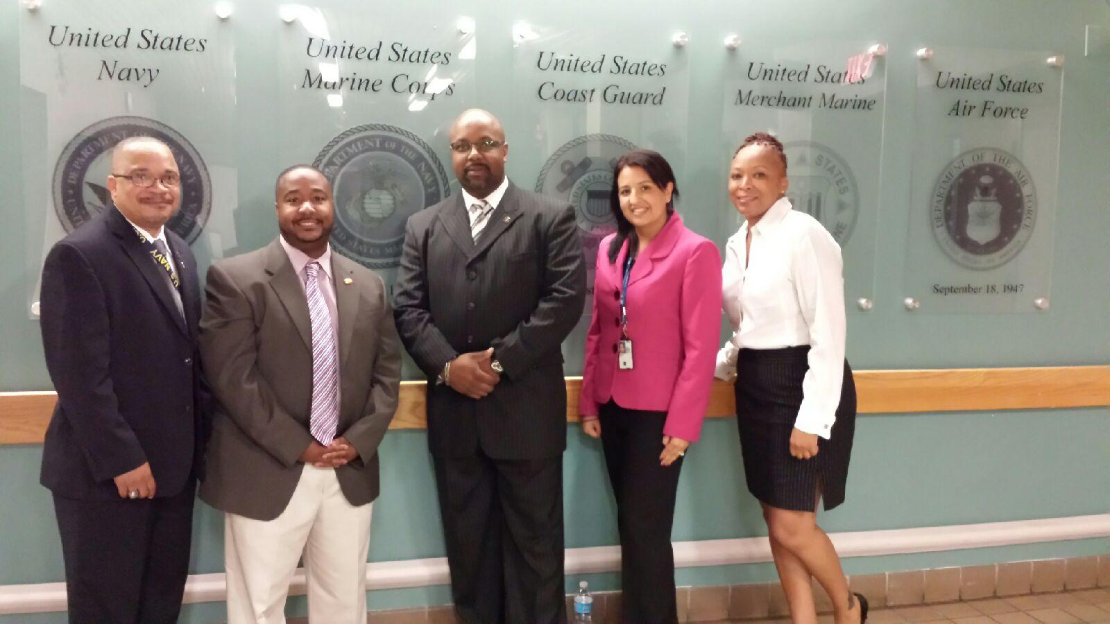 Veteran Employment Services Office, Human Resources Services Staff Visit VA Medical Center in Washington, DC