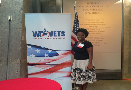 VESO Attends Women Veterans Career Development Forum